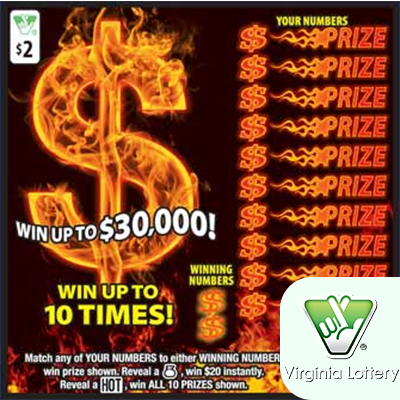 VA Lottery Scratcher Ticket Codes - Lotto Edge