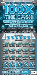 FL Lottery 100X the Cash Instant Game