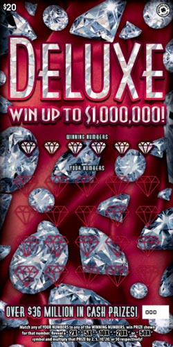 WA Lottery Deluxe Scratch Off